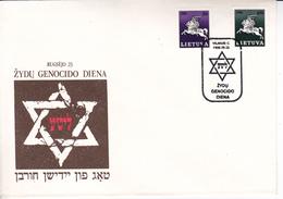 Lituanie   Lietuva 1992  Memory Genocido Day , Special Cancell - Lithuania