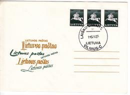 Lituanie   Lietuva 1992 , Lietuva Post , Special Cancell - Lithuania
