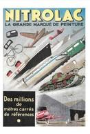 Publicité Peintures Nitrolac De 1942 (2 Scans) - Advertising