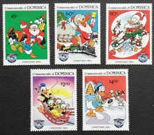 Dominica 1984 Christmas And 50th. Anniv.of Donald Duck - West Indies