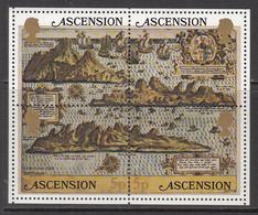1981 Ascension Maps    Complete Set Of 5 MNH - Ascension (Ile De L')