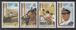 1981 Ascension Duke Of Edinburgh Awards Omnibus Joint Issue    Complete Set Of 4 MNH - Ascension (Ile De L')