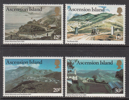 1981 Ascension Art Paintings    Complete Set Of 4 MNH - Ascension (Ile De L')