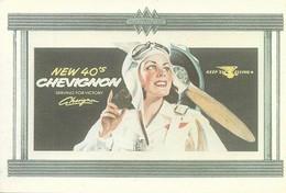 Publicité Chevignon (2 Scans) - Reclame