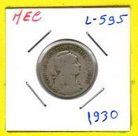 MEC 62 / - Cabo Verde Portugues - / 50 Centavos 1930 Rare / Ex/ Colonia- L-595 - Cap Vert