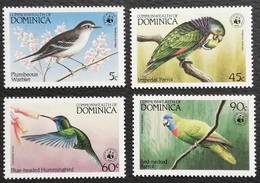 Dominica Local Birds Scott $29.50 - West Indies