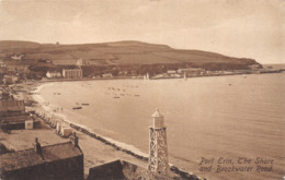 R077138 Port Erin. The Shore And Breakwater Road. Frith. No. 65083. 1914 - Postcards