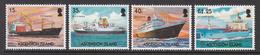 2004 Ascension Merchant Ships   Complete Set Of 4 MNH - Ascension (Ile De L')