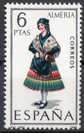 Spagna 1967 Sc. 1395 Donna Di Almeria In Costume Tradizionale  MNH Spain Espana - Costumi