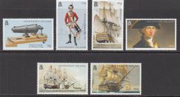 2005 Ascension Battle Of Trafalgar Nelson Military Ships Complete Set Of 6 MNH - Ascension (Ile De L')