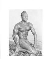 PHOTO HOMME MAILLOT DE BAIN CULTURISME CULTURISTE  14.50 X 11 CM - Sports