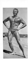 PHOTO  HOMME MAILLOT DE BAIN CULTURISME CULTURISTE  24 X 11 CM - Sports