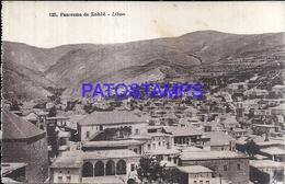 109764 AFRICA LIBYA PANORAMA OF ZAHLE POSTAL POSTCARD - Cartes Postales