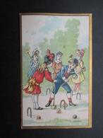 CHROMO (V1905) DELAHAYE CHAPPELERIE (2 Vues) 23, Rue Haute Bruxelles - Croquet - Altri