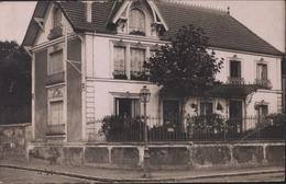 Carte Photo CP Maison Bezons CAD Bezons Seine Et Oise 95 Arrivée Bourbonne Les Bains 1909 R Duvau Colombes Carlier - Bezons