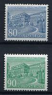 43665) BERLIN # 55+56 Postfrisch Aus 1949, 38.- € - Berlin (West)