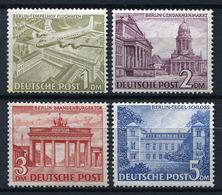 43666) BERLIN # 57-60 Postfrisch GEPRÜFT Aus 1949, 570.- € - [5] Berlin