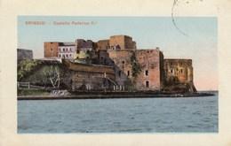 BRINDISI-CASTELLO FEDERICOII-CARTOLINA VIAGGIATA IL 19-5-1913 - Brindisi