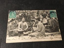 285/ COCHINCHINE SAIGON REPAS DE SAIGONNAISES - Vietnam