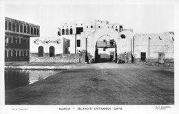 R079344 No. 4. Suakin. Islands Entrance Gate. D. P. Chryssides - Postcards