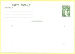 FRANCIA - France - 1,40 Sabine De Gandon - Carte Postale - Intero Postale - Entier Postal - Postal Stationery - Not Sent - Ganzsachen