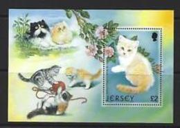 91792) Jersey - Fogli Yvert 43 MNH Fauna Gatti-MNH** - Jersey