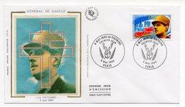 FDC 1995 - Général De Gaulle - La Victoire 8 Mai 1945 - YT 2944 - Paris - FDC