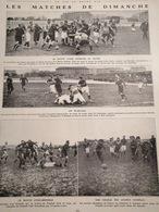 1912 RUGBY - STADE FRANÇAIS = LE HAVRE - LYON = GRENOBLE - Journaux - Quotidiens