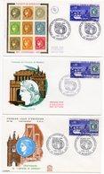 FDC France 1970 - Centenaire De L'émission De Bordeaux - YT 1659  - 33 Bordeaux - FDC