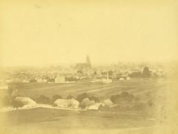 Allemagne Regensburg Ratisbonne Panorama Ancienne Photo Vers 1868 - Antiche (ante 1900)