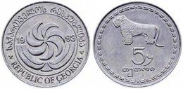 25 Pieces Georgia - 5 Tetri 1993 UNC Bag - Georgien