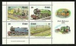 91806) Irlanda/Ireland/Eire1991 BF 8 Trasporti Irlandesi Biciclette -MNH** - Blocchi & Foglietti