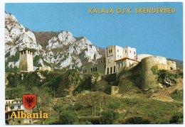 """ALBANIE/ALBANIA - THE MUSEUM OF GJ K.""""SKANDERBEU""""-KRUJE / THEMATIC STAMP - RED CROSS/NUDE PAINTING - Albania"""