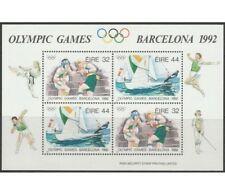 91809) IRLANDA 1992 Giochi Olimpici Estivi 1 BF MNH** - Blocchi & Foglietti