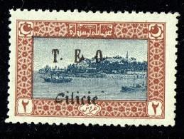 CILICIE 1919   La Corne D'Or  - Surcharge T.E.O. Cilicie   Yv 72 * MH - Cilicie (1919-1921)