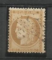 1870 – N°36 - Bistre Jaune - 10 C. - SIEGE DE PARIS -TRES BEAU    -  Cotation Yvert 2016 : 90 € - 1870 Siege Of Paris