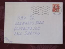 Denmark 1988 Cover Praesto To Soborg - Queen - Denmark