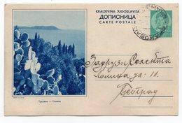 1939 YUGOSLAVIA, CROATIA, TRSTENO, USED, ILLUSTRATED POSTCARD - Croacia