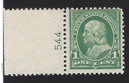 US #279 1897-1903 Deep Green WMK 191 Perf 12 MNH F-VF Scv $25 - Unused Stamps