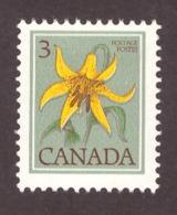Canada 1977 -  Wild Flowers  3c # MNH # - Nuevos