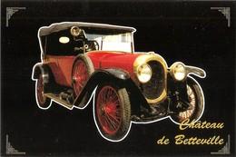 """Pont L'évêque : Château De Betteville Musée Automobile """"La Belle Epoque"""" CHENARD ET WALCKER 1922 - Voitures De Tourisme"""