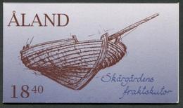 Aland -  Ålandinseln - Åland - Michel MH / Carnet / Booklet 3 - ** Mnh Neuf Postfris - Ships Segelschiffe - Aland