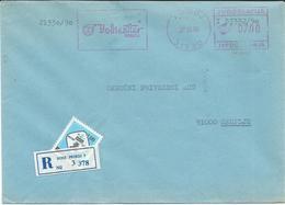 "Yugoslavia EMA Machine Stamp ,,POLIESTER Priboj "" 1990 - Motive - Chemical Industry - 1945-1992 Repubblica Socialista Federale Di Jugoslavia"