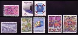 UNO GENF MI-NR. 111-118 ** JAHRGANG 1983 MIT HUNDERTWASSER - Geneva - United Nations Office