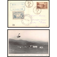 41443 Cuers Var MEETING 1938 Aviation N°346 PA Poste Aérienne Airmail Carte Postale (postcard) - Airmail