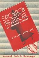 """/ CPSM FRANCE 51 """"Chalons Sur Marne, Exposition Philatélique 1935"""" - Châlons-sur-Marne"""