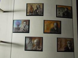 Portugal 6 New Stamps - 1999 - Vultos Da Medicina Portuguesa - 1910-... République