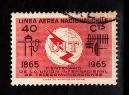 Chile, 1965- Centenario UIT. CancelledNH. - Post