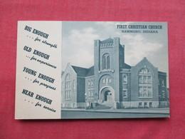 First Christian Church  - Indiana > Hammond  Ref 3249 - Hammond