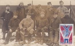 ALLEMAGNE BAVIERE HAMMELBURG CAMP DE PRISONNIERS CARTE PHOTO - Guerre 1914-18
